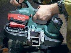 Тест Metabo MBS 18 LTX пила ленточная аккумуляторная 2.5