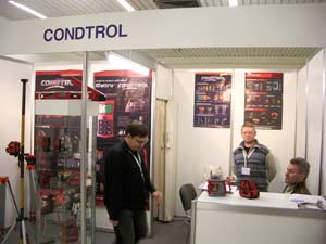 Condtrol («Армада Лазерс») на выставке MITEX-2009