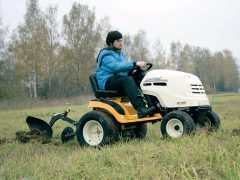 Тест трактора MTD Cub Cadet GT 1223