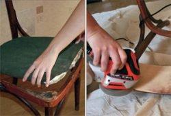 сиденье стул восстановление ремонт реставрация
