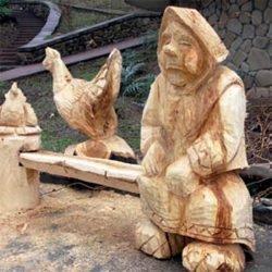 Husqvarna бензопила скульптура Хускварна Шляхтенко