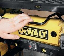 Тест DeWALT DW733 рейсмус мини станок рейсмусовый рейсмусный