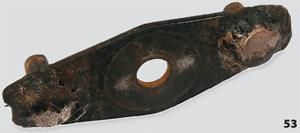 Сварка прижимной пластины ножа газонокосилки