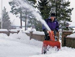Снегоуборщик: победа над стихией