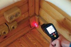 утеплить дом обследование исследование тепловизор