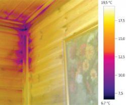 тепловизор пирометр как найти щели плохая теплоизоляция