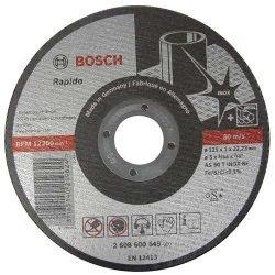 Bosch Rapido отрезной круг по нержавейке 125