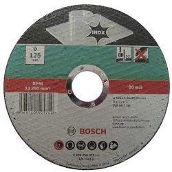 Bosch отрезной круг по нержавейке 125