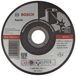 Bosch Rapido Long Life отрезной круг по нержавейке 125