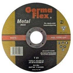 GermaFlex отрезной круг по нержавейке 125