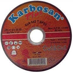 Karbosan Plus Cut&Cut отрезной круг по нержавейке 125
