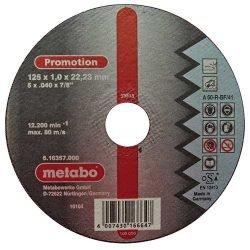 Metabo Promotion отрезной круг по нержавейке 125