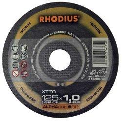 Rhodius отрезной круг по нержавейке 125