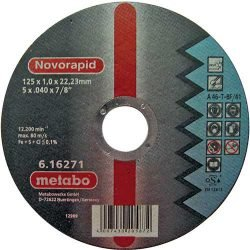 Metabo Novorapid отрезной круг по нержавейке 125