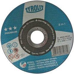 Tyrolit Premium отрезной круг по нержавейке 125
