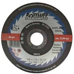 Rottluff PremiumFlex отрезной круг по нержавейке 125