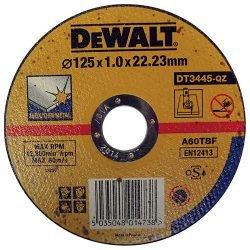 DeWALT отрезной круг по нержавейке 125