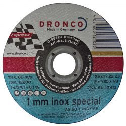 Dronco 1 mm inox Special отрезной круг