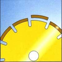 Отскакивание сегмента безопасность алмазных кругов