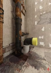 Подключение к канализационному патрубку