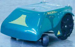 Caiman Ambrogio L200 Basic робот газонокосилка аккумуляторный Кайман косилка роботизированная