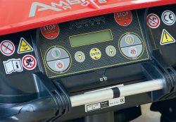 Робот газонокосилка Caiman Ambrogio L200 Elite панель управление дисплей