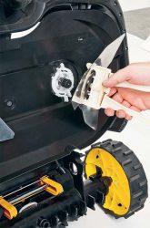 Робот газонокосилка Cub Cadet Lawnkeeper 3000 замена нож съемник лезвия
