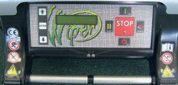 Робот газонокосилка Wiper Runner XKH ЖК дисплей меню