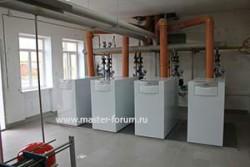 Отопление цеха котлами Vaillant ecoCraft