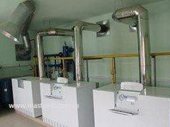 Отопление здания общежития на базе газовых котлов Vaillant atmoCraft