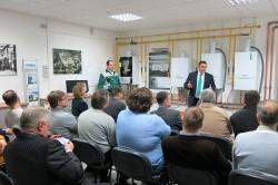 Учебный класс в Академии Vaillant в учебном классе в Саратове