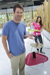 Cпециальный поднос Kettler: напиток не прольётся!