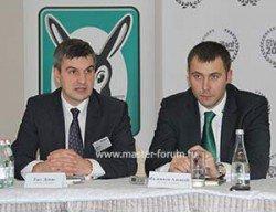 Денис Гасс, директор департамента продаж «Вайлант Груп Рус», и отдела маркетинга Алексей Палиивец