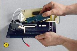 Электрический привод механизма смыва
