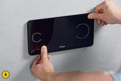 Лицевая панель кнопки смыва Visign for More sensitive
