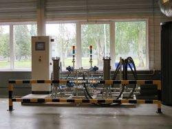 Гидравлический тест промышленных котлов Bosch