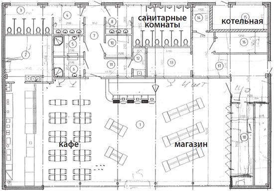 Схема АЗС