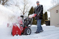 двигатель для снегоубррщика