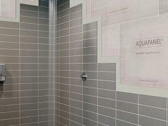 Кнауф аквапанель для перегородки в ванной