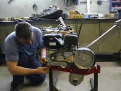 Тест ресурса двигателя Briggs&Stratton