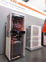 Vitolacaldens 222F - это воздушный тепловой насос и конденсационный котел
