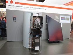 Бивалентная система с тепловым модулем Vitosolar 300-F