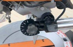 AEG PS 305 DG пила торцовочная торцовочно усовочная протяжка глубина регулировка