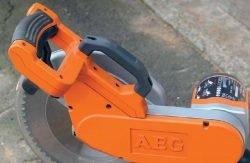 AEG PS 305 DG пила торцовочная торцовочно усовочная протяжка рукоятка кнопка включение