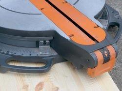 AEG PS 305 DG пила торцовочная торцовочно усовочная протяжка угол поворот стол регулировка