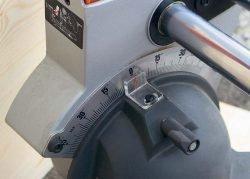 AEG PS 305 DG пила торцовочная протяжка наклон угол диск регулировка