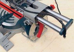Bosch GCM 800 SJ пила торцовочная торцовочно усовочная протяжка опорная скоба винт фиксация направляющая