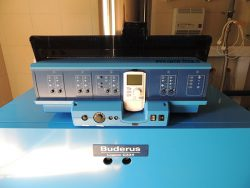 контроллер Buderus Logamatic 4321 и пульт MEC2 с датчиком температуры