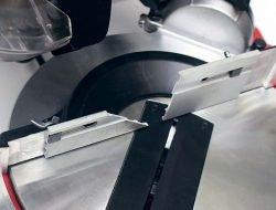 Elitech ПТК 1625 пила торцовочная комбинированная направляющие упор регулировка вертикальный
