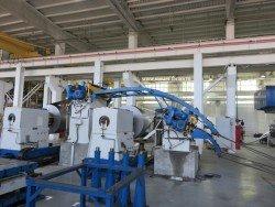 Участок металлообработки на заводе Бош Еврорадиаторы в Энгельсе